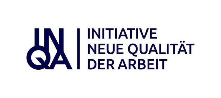 Logo Initiative New Quality of Work (INQA)